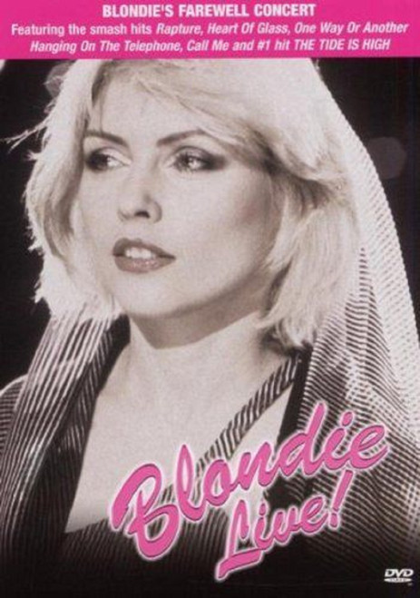 Blondie Live! DVD from Direct Video (DVDUK007D)