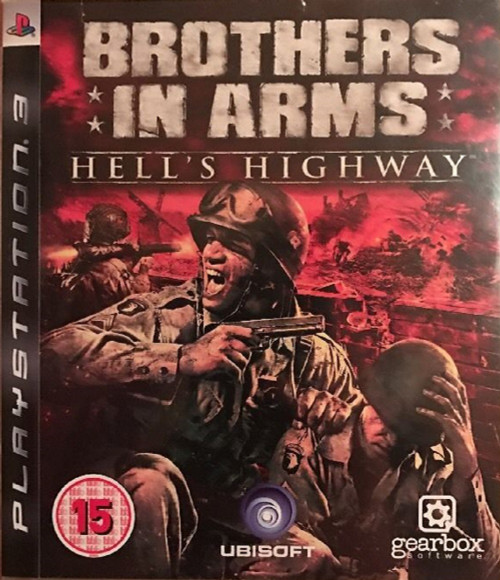 Brothers In Arms: Hell's Highway for Sony Playstation 3/PS3 from Ubisoft (BLES 00318)