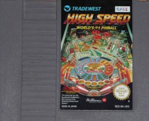 High Speed for Nintendo Entertainment System/NES from Rare/Tradewest (NES-8H-UKV)