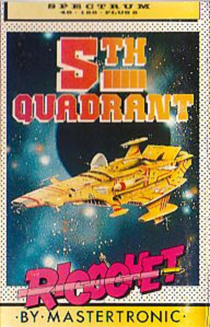 5th Quadrant for ZX Spectrum from Ricochet/Mastertronic (RS 026)