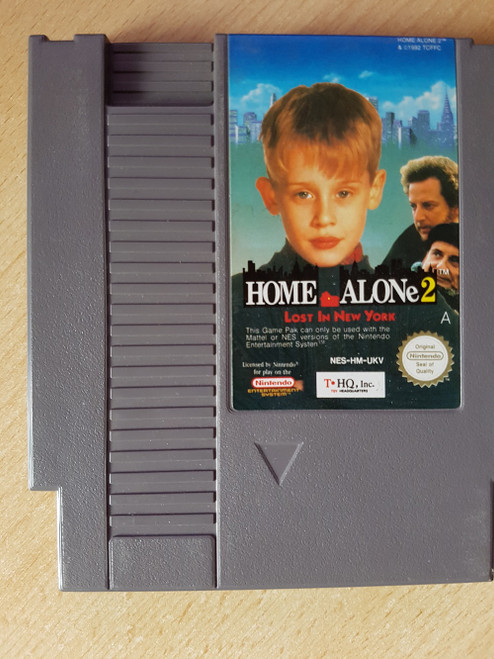 Home Alone 2: Lost In New York PAL for Nintendo Entertainment System/NES from THQ (NES-HM-UKV)