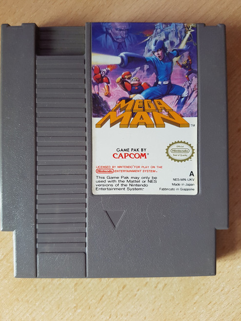 Mega Man PAL for Nintendo Entertainment System/NES from Capcom (NES-MN-UKV)