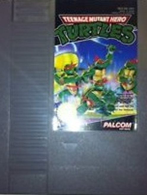 Teenage Mutant Hero Turtles for Nintendo Entertainment System/NES from Palcom (NES-88-UKV)