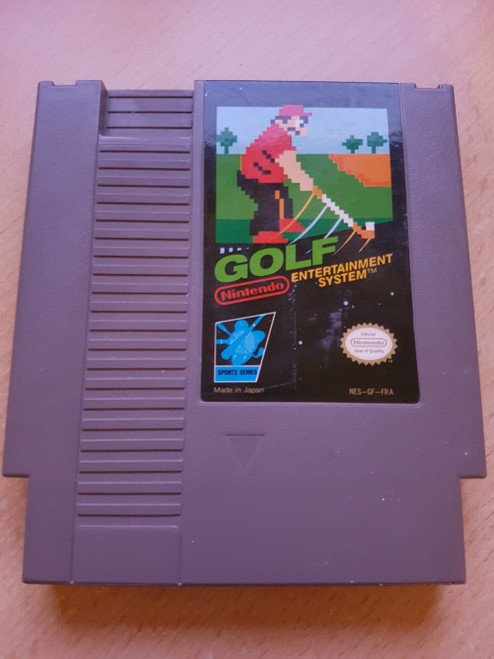 Golf PAL for Nintendo Entertainment System/NES from Nintendo (NES-GF-FRA)