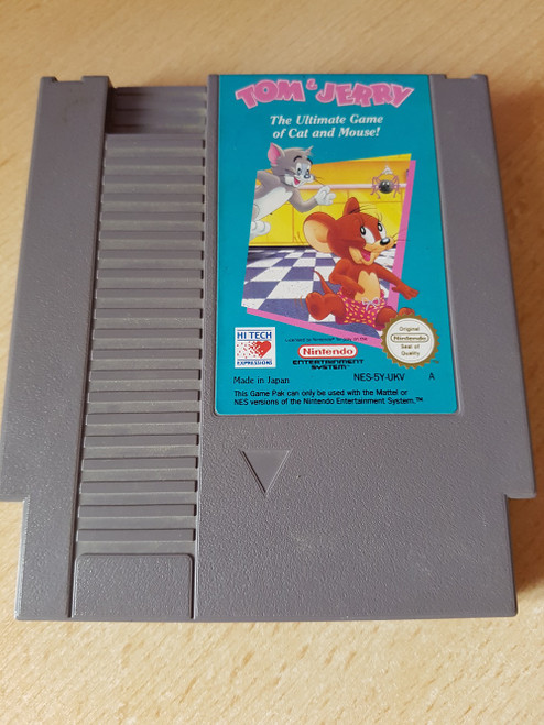 Tom & Jerry for Nintendo Entertainment System/NES from Hi Tech Expressions (NES-5Y-UKV)