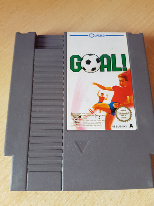 Goal! PAL for Nintendo Entertainment System/NES from Jaleco (NES-JG-UKV)