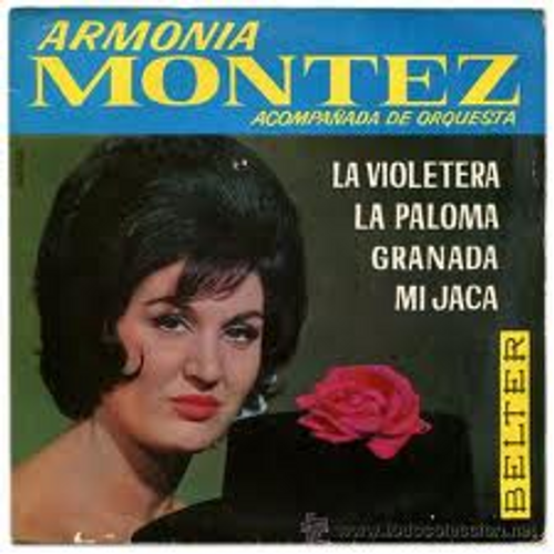 "7"" 45RPM Armonia Montez EP from Belter"