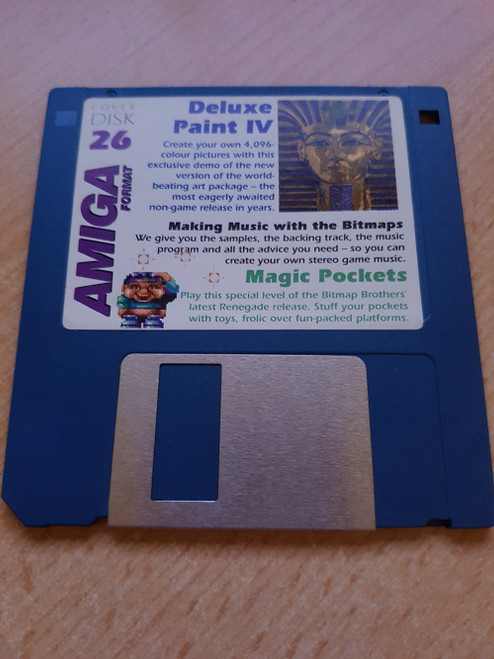 Amiga Format Issue 26 September 1991 Coverdisk for Commodore Amiga