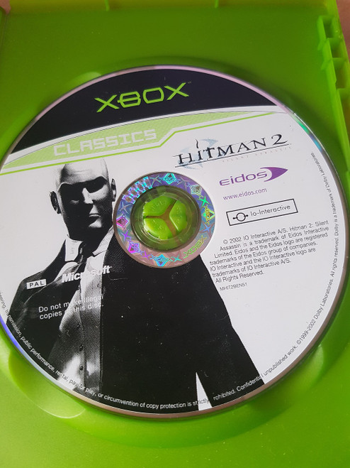 Hitman 2: Silent Assassin Disc Only for Microsoft XBOX from Eidos