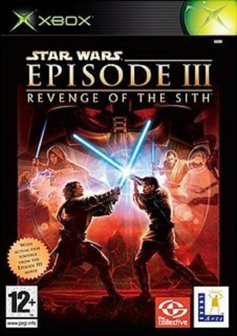 Star Wars Episode III: Revenge Of The Sith PAL for Microsoft XBOX from LucasArts