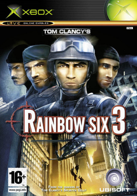 Rainbow Six 3 PAL for Microsoft XBOX from Ubisoft
