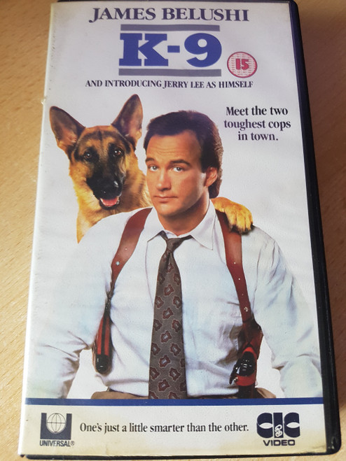 K-9 VHS from Universal/CIC Video (VHR 1391)