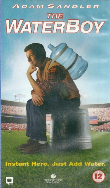 The Waterboy VHS from Touchstone Home Video (D610615)