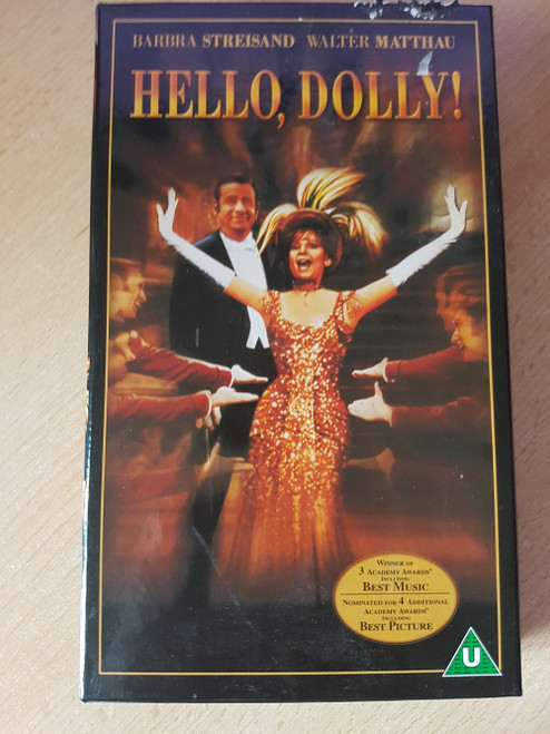 Hello, Dolly! VHS from 20th Century Fox Home Entertainment (01001CS)