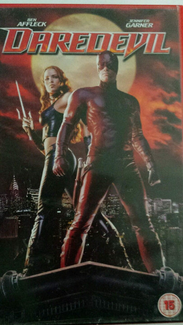 Daredevil VHS from 20th Century Fox Home Entertainment (23789S)