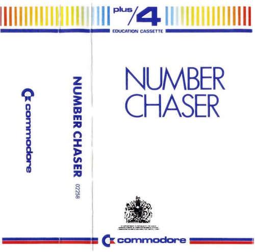 Number Chaser for Commodore Plus 4 by Commodore on Tape