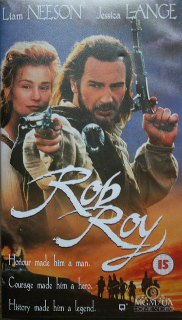 Rob Roy VHS from MGM/UA Home Video (S055228)
