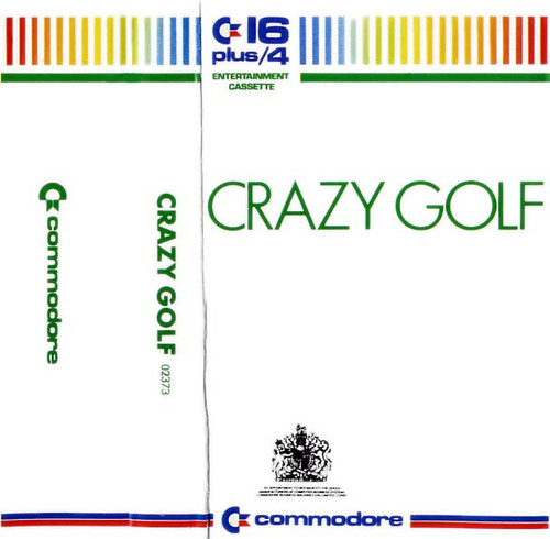 Crazy Golf for Commodore 16/Plus 4 by Commodore on Tape
