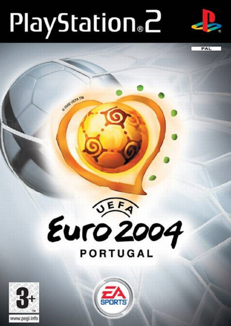 UEFA Euro 2004: Portugal PAL for Sony Playstation 2/PS2 from EA Sports (SLES 52394)