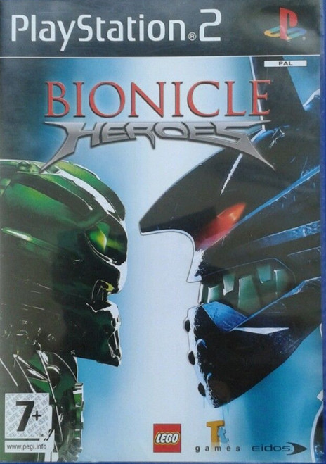 Bionicle Heroes PAL for Sony Playstation 2/PS2 from Eidos (SLES 54150)
