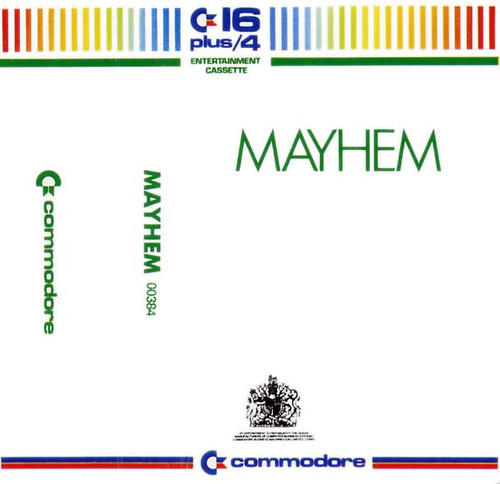 Mayhem for Commodore 16/Plus 4 by Commodore on Tape