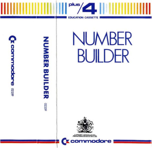 Number Builder for Commodore Plus 4 by Commodore on Tape