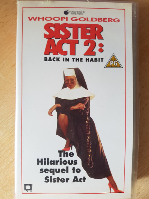 Sister Act 2: Back In The Habit VHS from Touchstone Home Video (D441942)