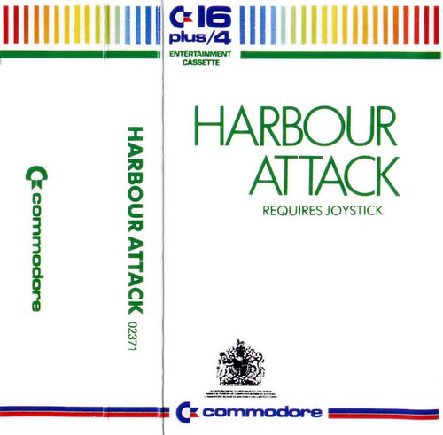 Harbour Attack for Commodore 16/Plus 4 by Commodore on Tape