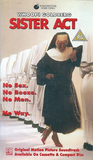 Sister Act VHS from Touchstone Home Video (D414522)