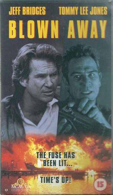 Blown Away VHS from MGM/UA Home Video (S054807)