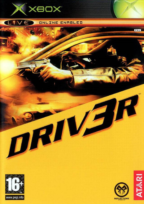 Driv3r PAL for Microsoft XBOX from Atari