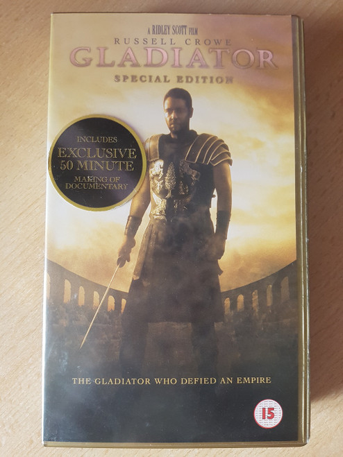 Gladiator Special Edition VHS from Universal (9025223)