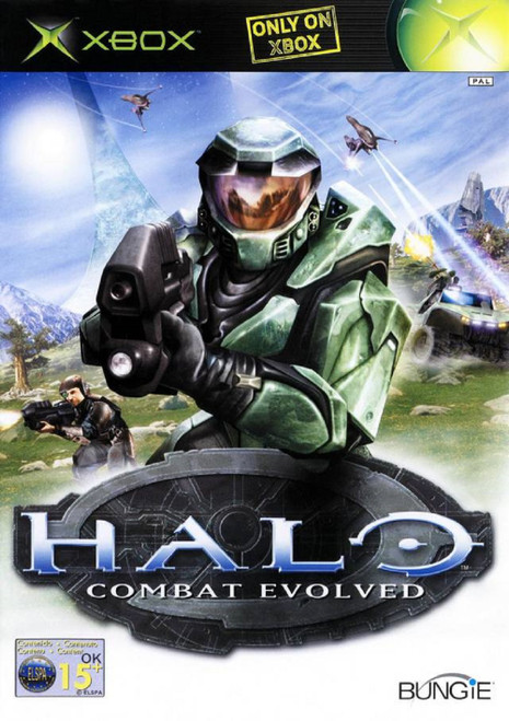 Halo: Combat Evolved PAL for Microsoft XBOX from Bungie/Microsoft (F78 00008)