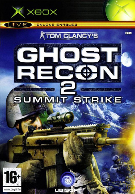 Ghost Recon 2: Summit Strike PAL for Microsoft XBOX from Ubisoft (112 8717)