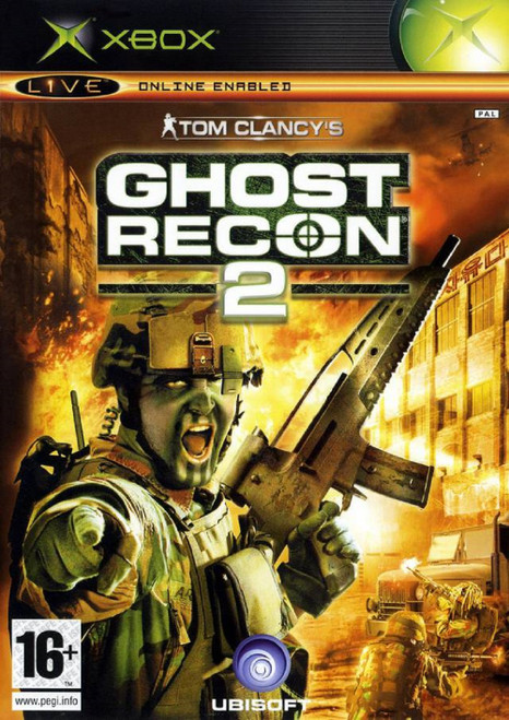 Ghost Recon 2 PAL for Microsoft XBOX from Ubisoft (112 8473)
