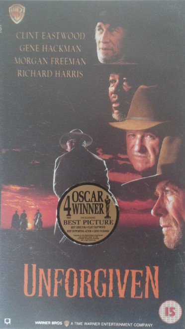 Unforgiven VHS from Warner Home Video (S012531)
