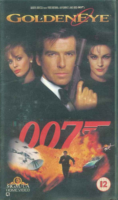 GoldenEye VHS from MGM/UA Home Video (S055495)