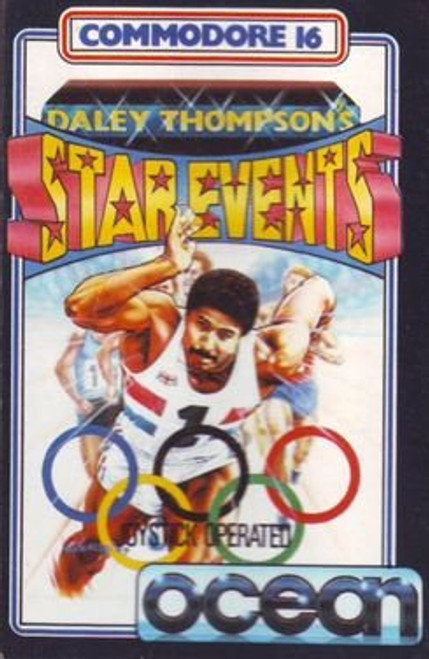 Daley Thompson's Star Events for Commodore 16/Plus 4 by Ocean on Tape