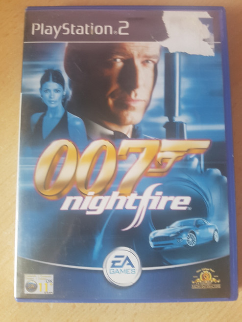 007: Nightfire PAL for Sony Playstation 2 from EA Games (SLES 51258)