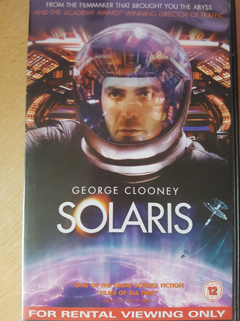 Solaris VHS from 20th Century Fox Home Entertainment (24283)