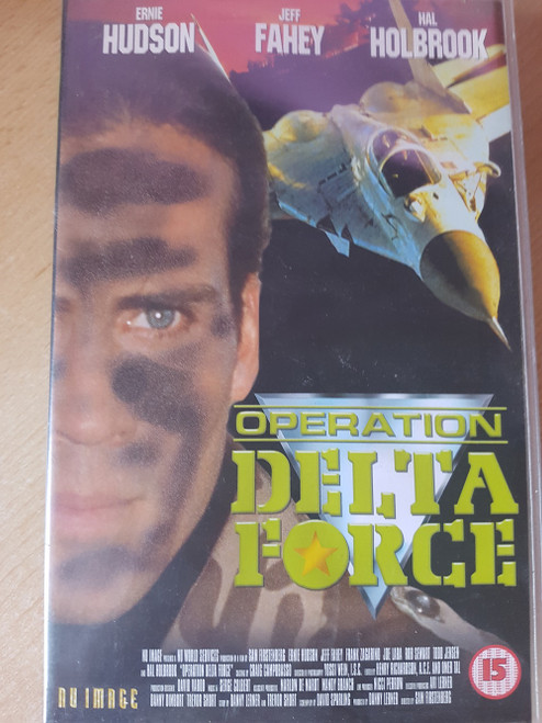 Operation Delta Force VHS from Nu Image (NU1002)