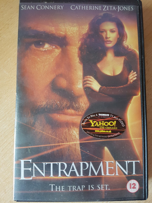 Entrapment VHS from 20th Century Fox Home Entertainment (14247)