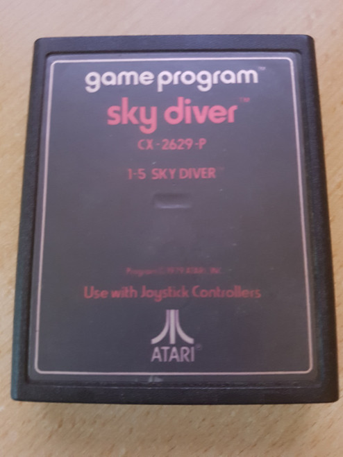 Sky Diver for Atari 2600/VCS from Atari (CX-2629-P)