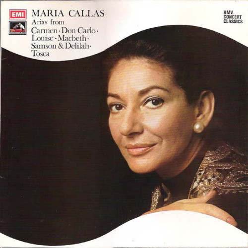 Operatic Arias by Maria Callas from His Master's Voice (SXLP 30166)