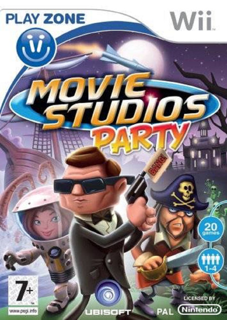 Movie Studios Party PAL for Nintendo Wii from Ubisoft (RVL-RVQP-UKV)