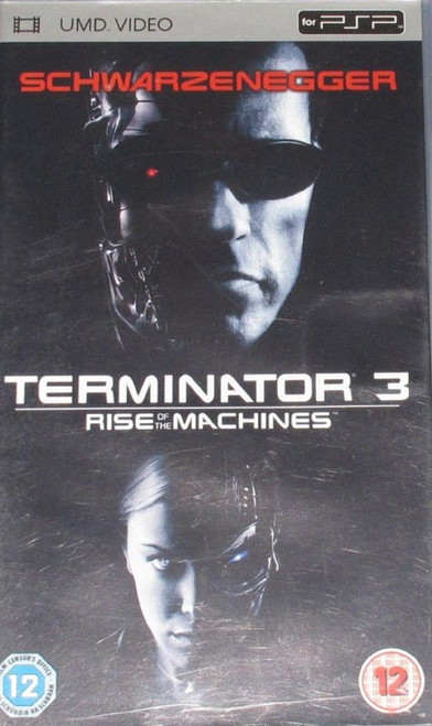 Terminator 3: Rise Of The Machines for Sony Playstation Portable/PSP from Sony Pictures (PSP 34144)