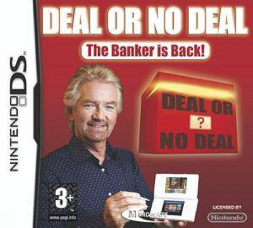 Deal Or No Deal: The Banker Is Back! for Nintendo DS/NDS from Mindscape (NTR-CD4P-UKV)