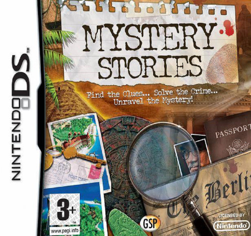 Mystery Stories for Nintendo DS/NDS from GSP (NTR-CJ4X-UKV)