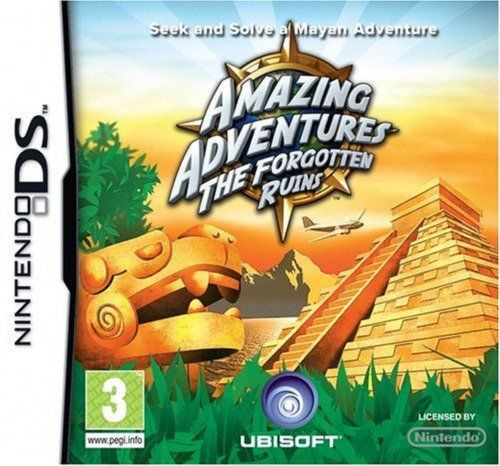 Amazing Adventures: The Forgotten Ruins for Nintendo DS/NDS from Ubisoft (NTR-CA7P-UKV)