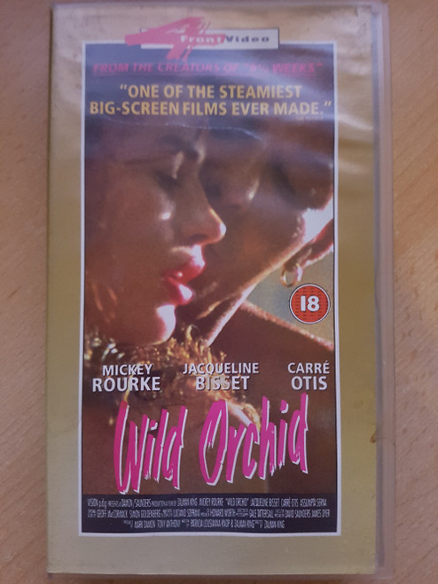 Wild Orchid VHS from 4 Front Video (085 892 3)